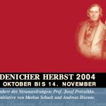 Robert Schumann Programm Endenicher Herbst 2004