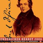 Robert Schumann Programm Endenicher Herbst 2006