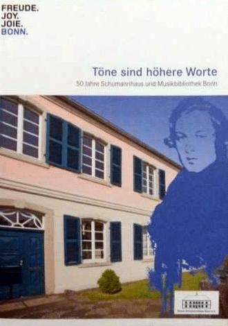 Robert Schumann Broschüre Stadt Bonn