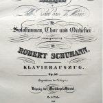 Sammlung Sharpe Schumannhaus Bonn