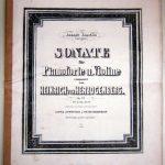 Heinrich von Herzogenberg: Sammlung Sharpe Bonner Schumannhaus