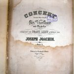 Joseph Joachim: Violinkonzert
