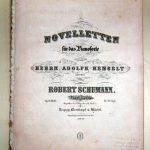 Noveletten: Sammlung Sharpe Schumannhaus Bonn