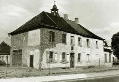 schumannhaus notdürftig aufgebaut