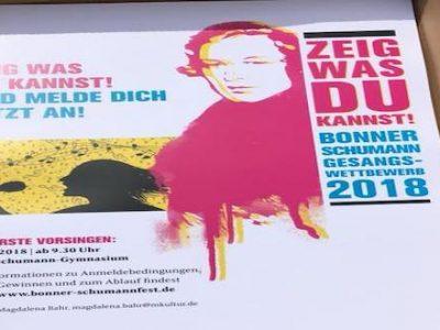 bonner robert schumann gesangswettbewerb plakat